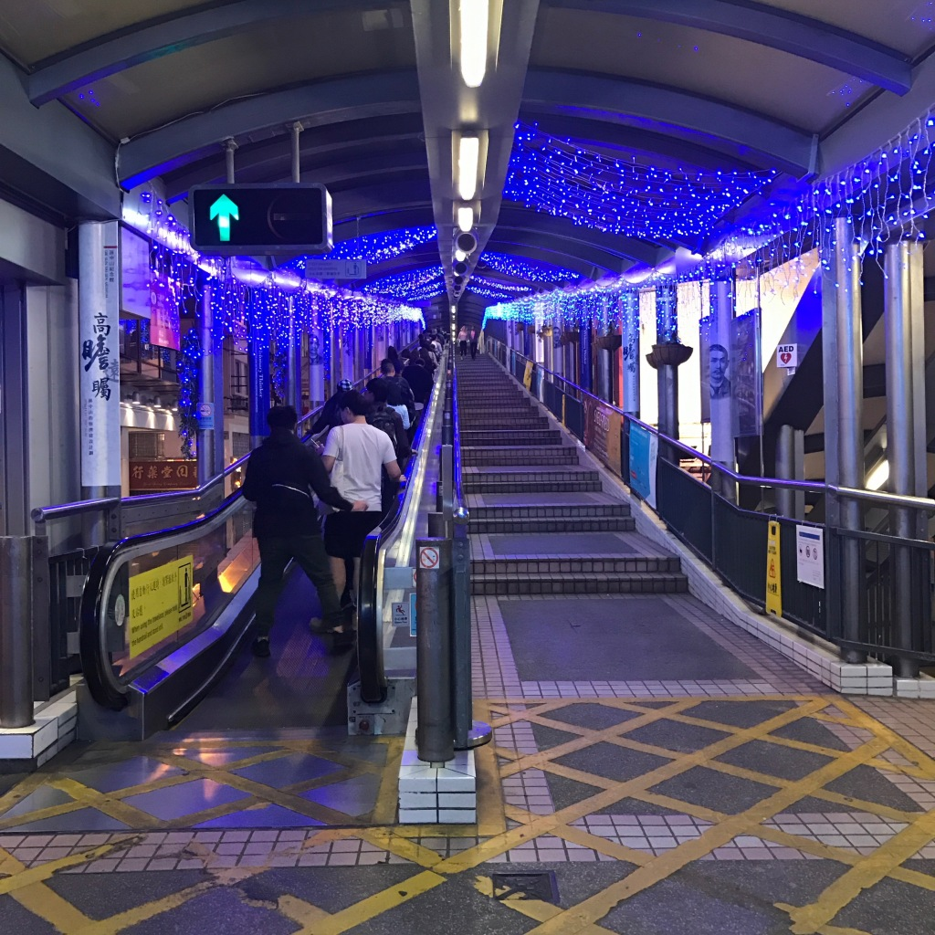 Mid-levels Escalator and Walkway