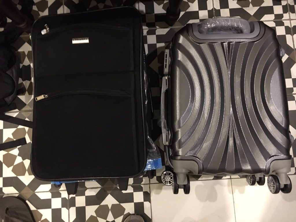 Old suitcase, meet new suitcase.