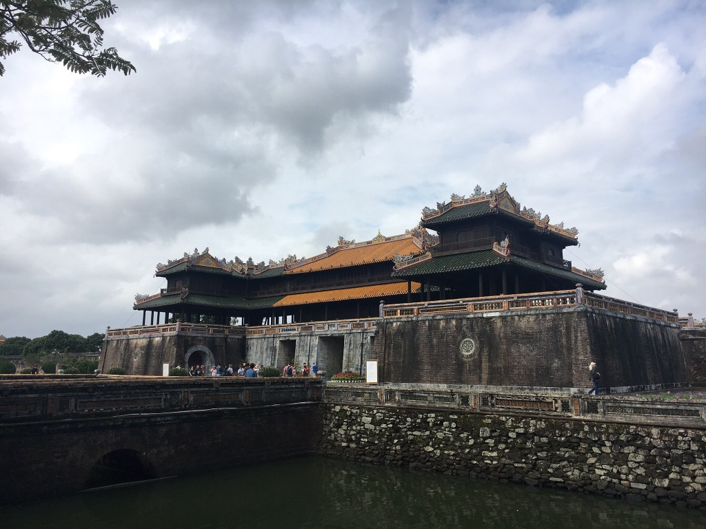 The entrance to the Imperial City in Hue