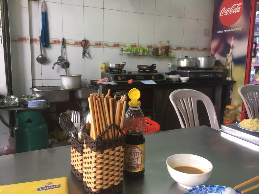 The kitchen @ Lac Thanh