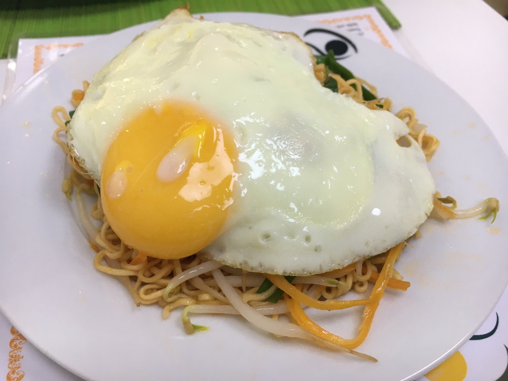 Fried noodles @ hotel in Hue