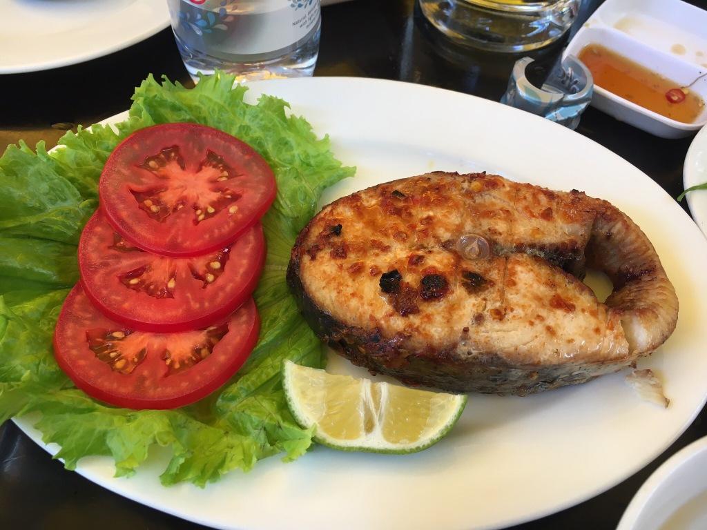 Grilled mackerel @ Quan An Ngon
