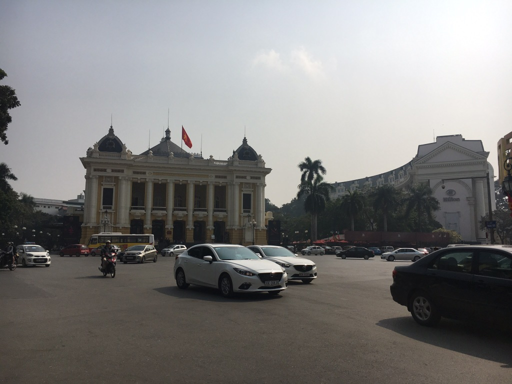 The Opera House in Hanoi