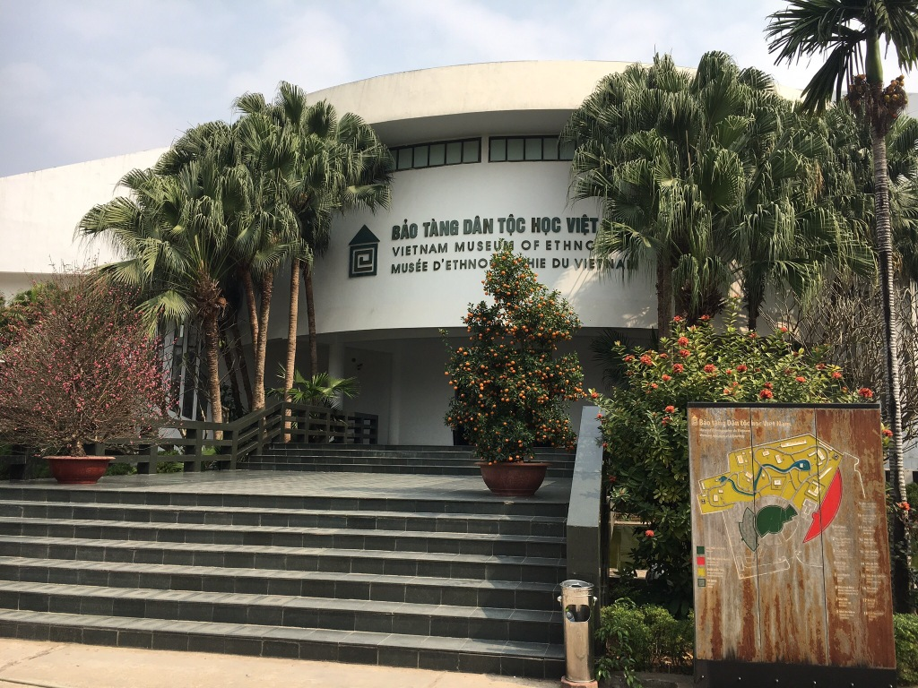 The exterior of the Vietnam Museum of Ethnology