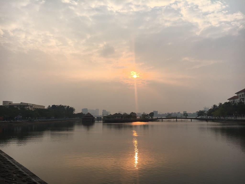 Sunset @ West Lake