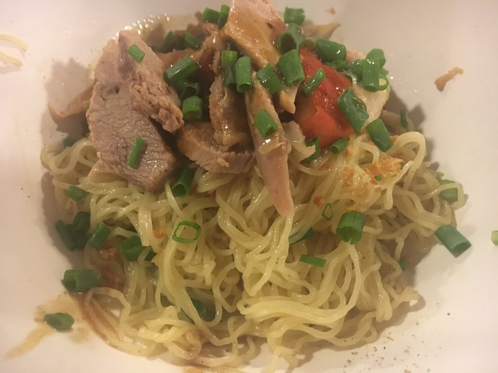Duck with egg noodles @ Hua Seng Hong