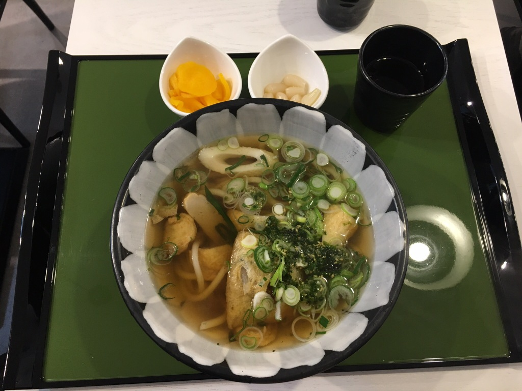 Fish cake udon @ Yurikamome.