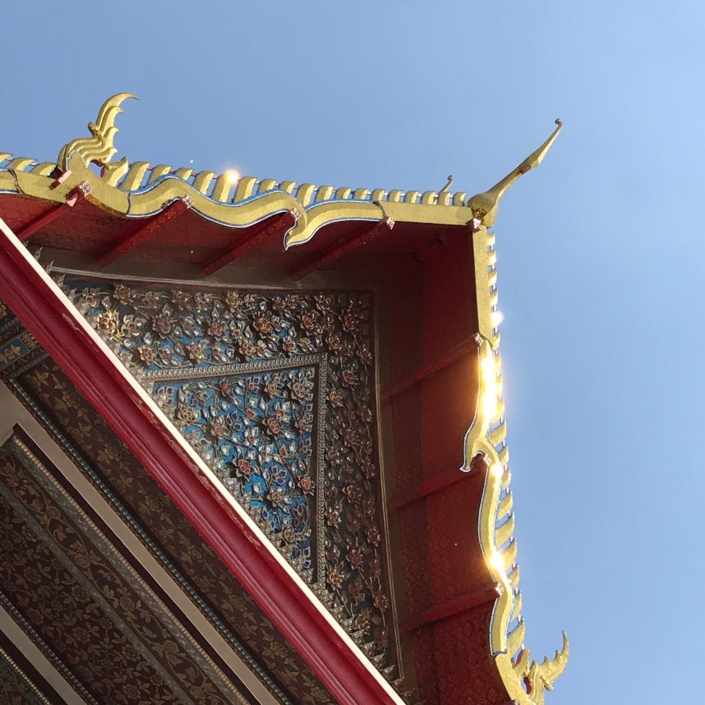 Architecture @ Wat Pho. Photo credit: Aaron.