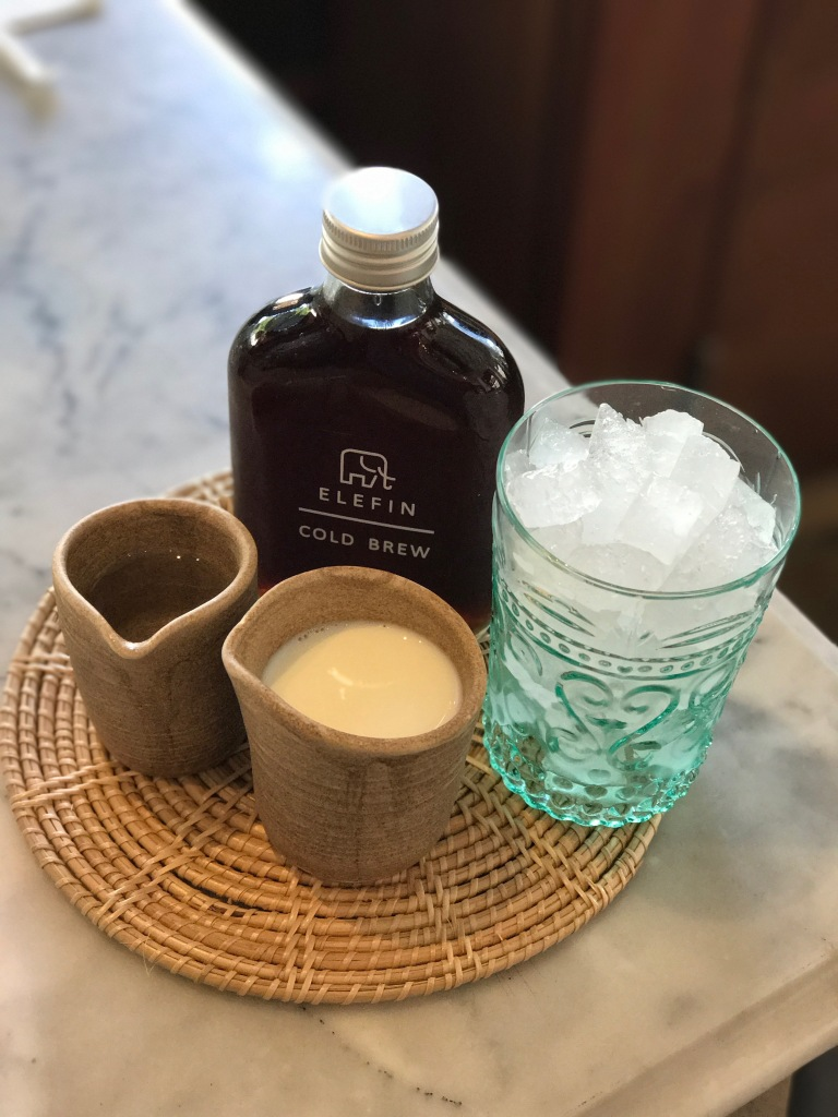Cold brew @ Elefin Coffee. Photo credit: Aaron.