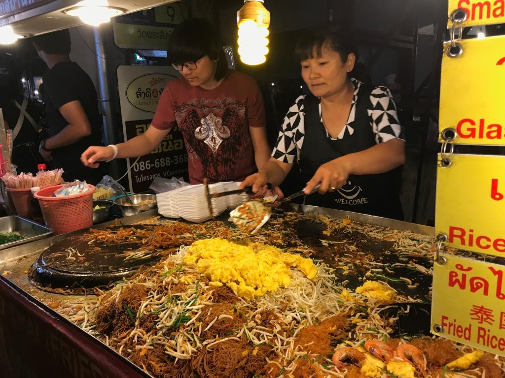 Pad Thai stall @ The Sunday Night Market. Photo credit: Aaron.