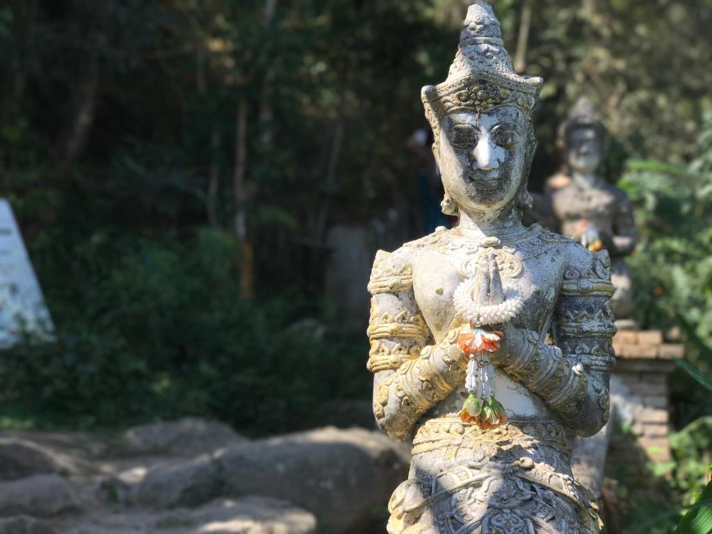 Statue @ Wat Pha Lat.