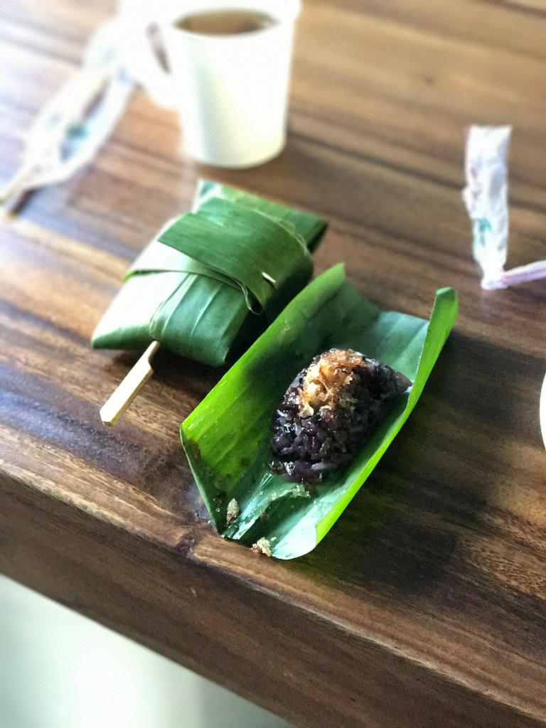 Sweet red sticky rice @ Blu Monkey Hotel and Hub. Photo credit: Aaron.