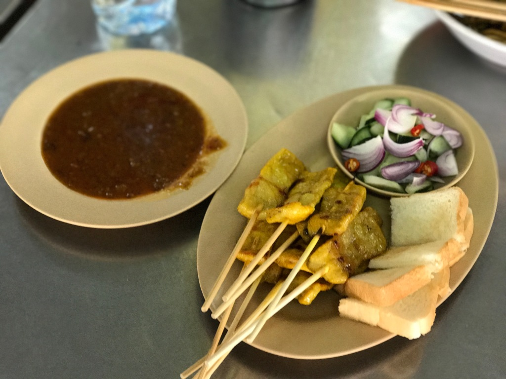 Satays @ Lock Tien Restaurant. Photo credit: Aaron.