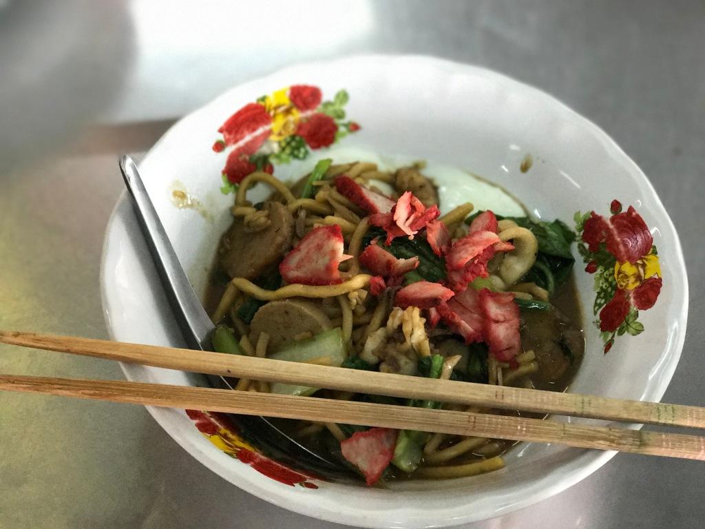 Mee Leung Pad Hokkien Sai Kai (Fujian stir-fried noodles) @ Lock Tien.
