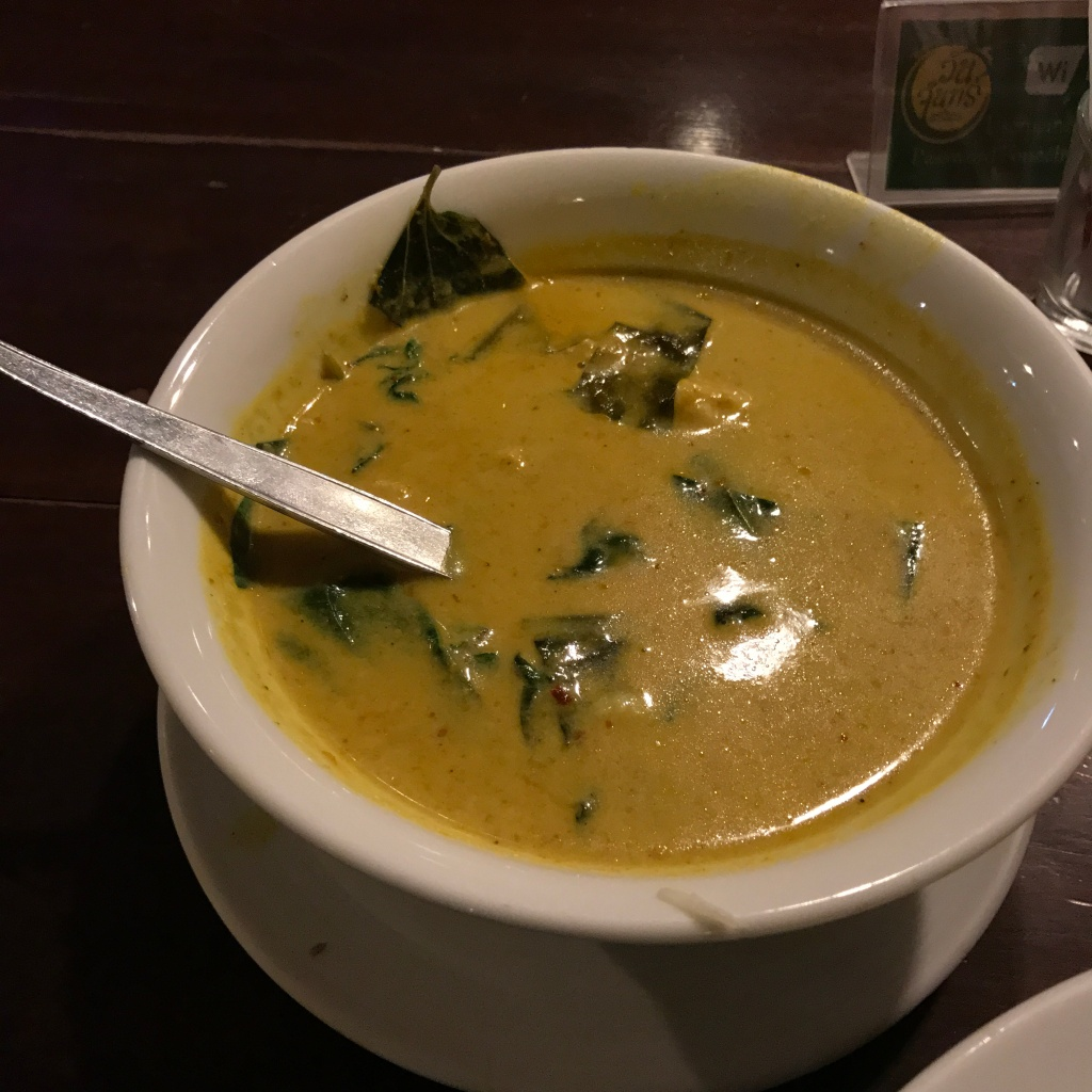 Crab curry with coconut milk @ One Chun. Photo credit: Aaron.