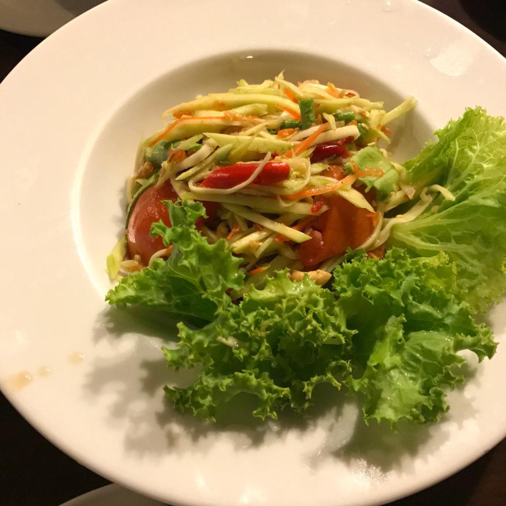 Green mango salad @ One Chun. Photo credit: Aaron.