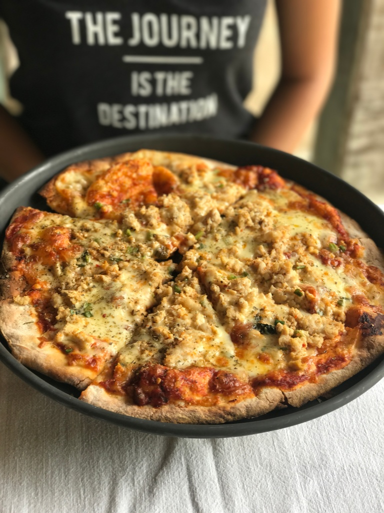 Thai Pizza. Photo credit: Aaron.