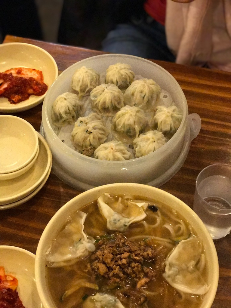 Dumplings and noodles @ Myeongdong Gyoja.