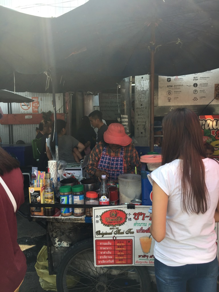 Thai milk tea stall @ Chatuchak market