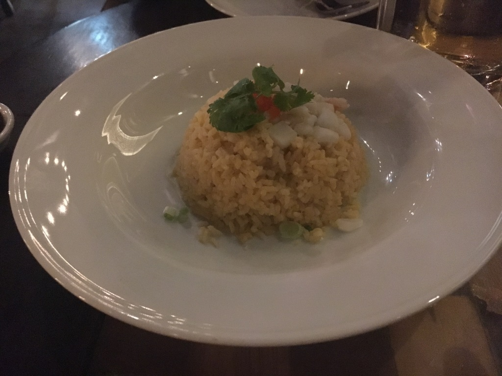 Seafood fried rice @ Red Rose Restaurant.
