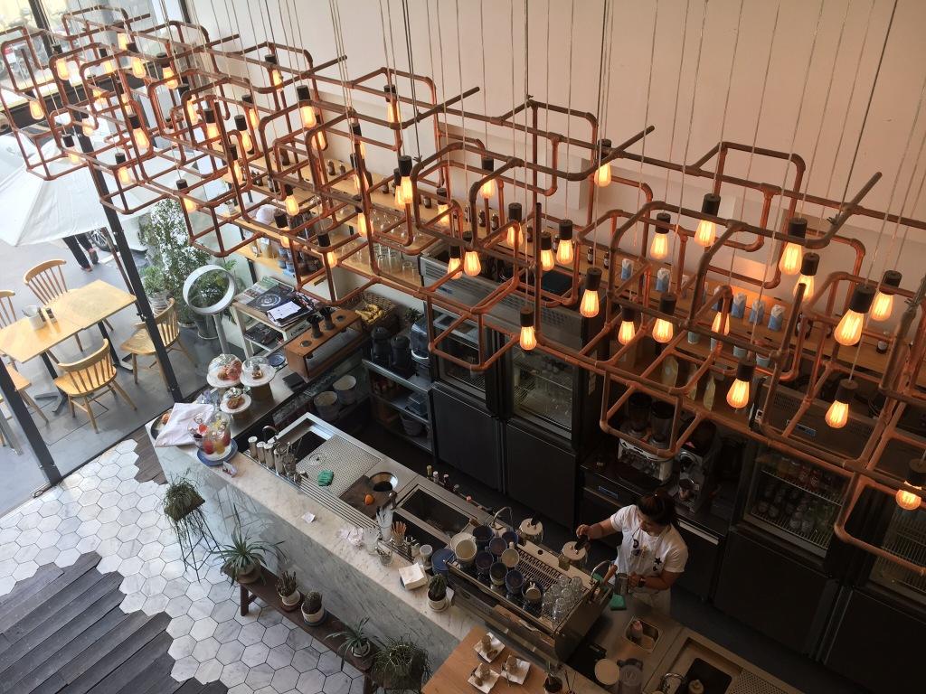 Nice, chic cafe @ Rocket Cafe