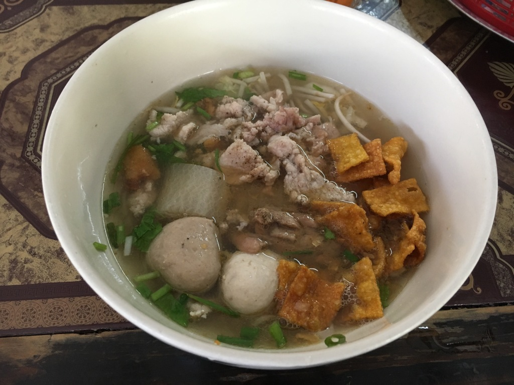 Pork noodle soup at the same restaurant.