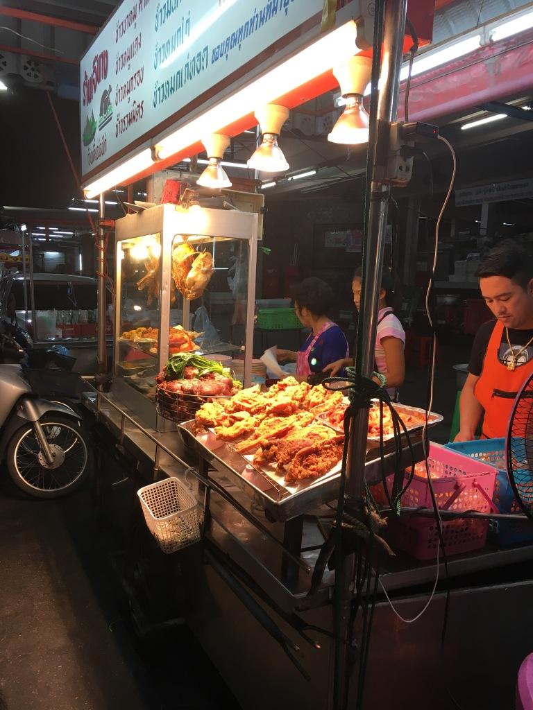 Fried chicken!!! @ Talad Kaset Night Market.