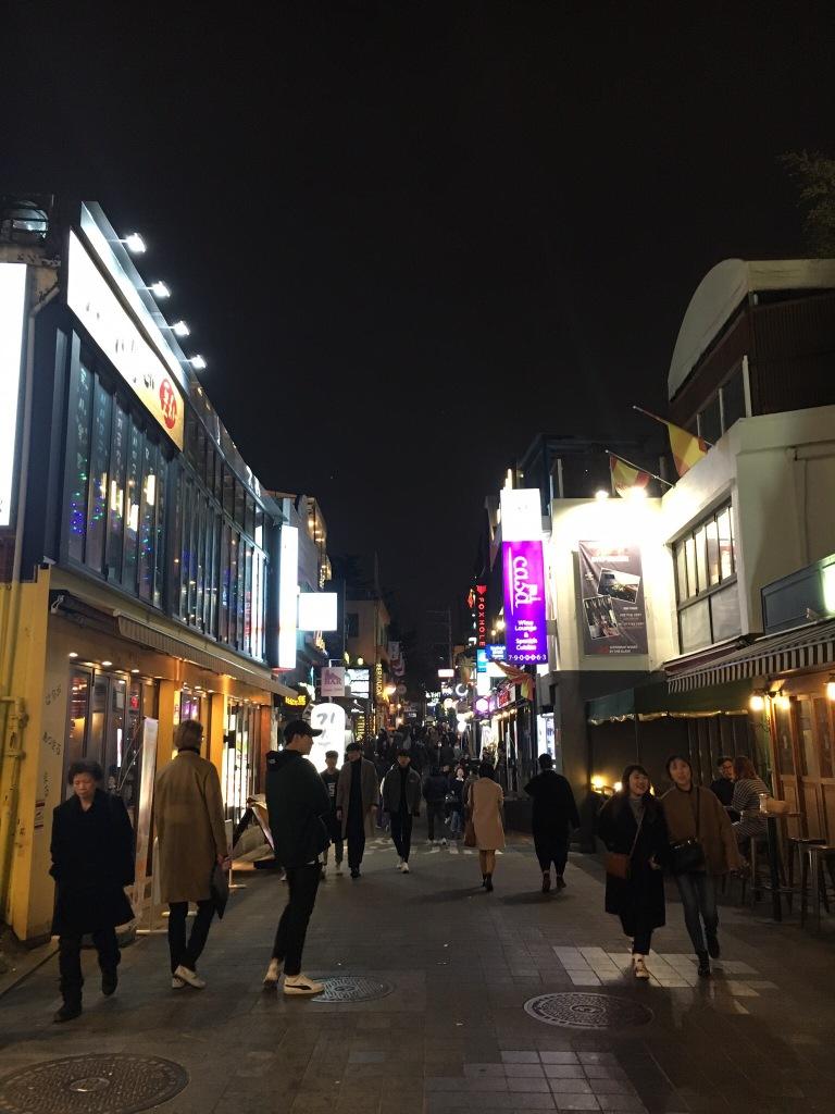 Itaewon, Seoul.