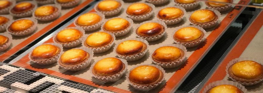 Cheese tarts @ Bake