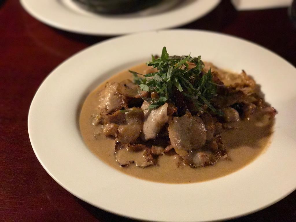 The original pork belly in peanut sauce. Photo credit: Aaron.