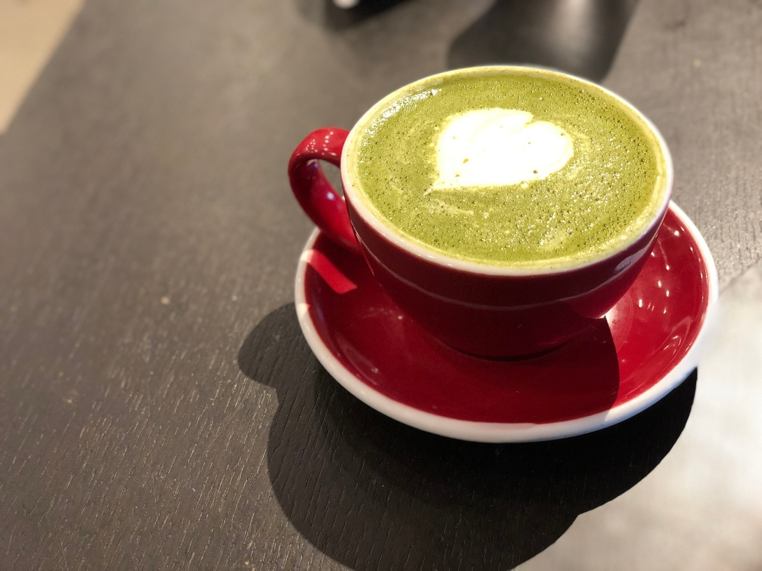 Matcha Latte @ Art-Is-In Bakery