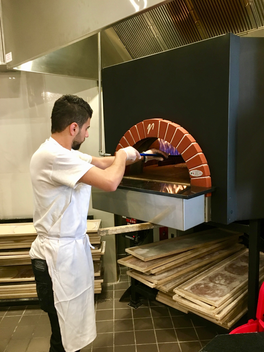 Wood-Burning Oven @ Paramount Fine Foods
