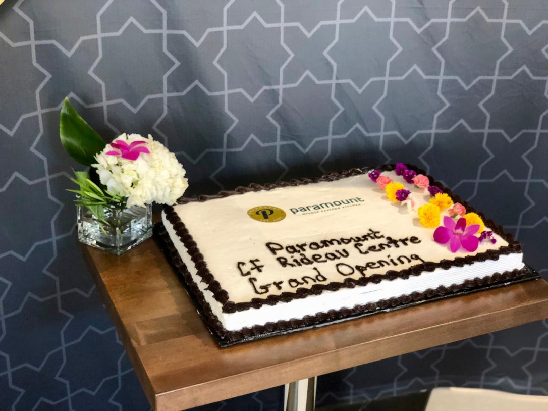 Cake @ Paramount Fine Foods Rideau Centre