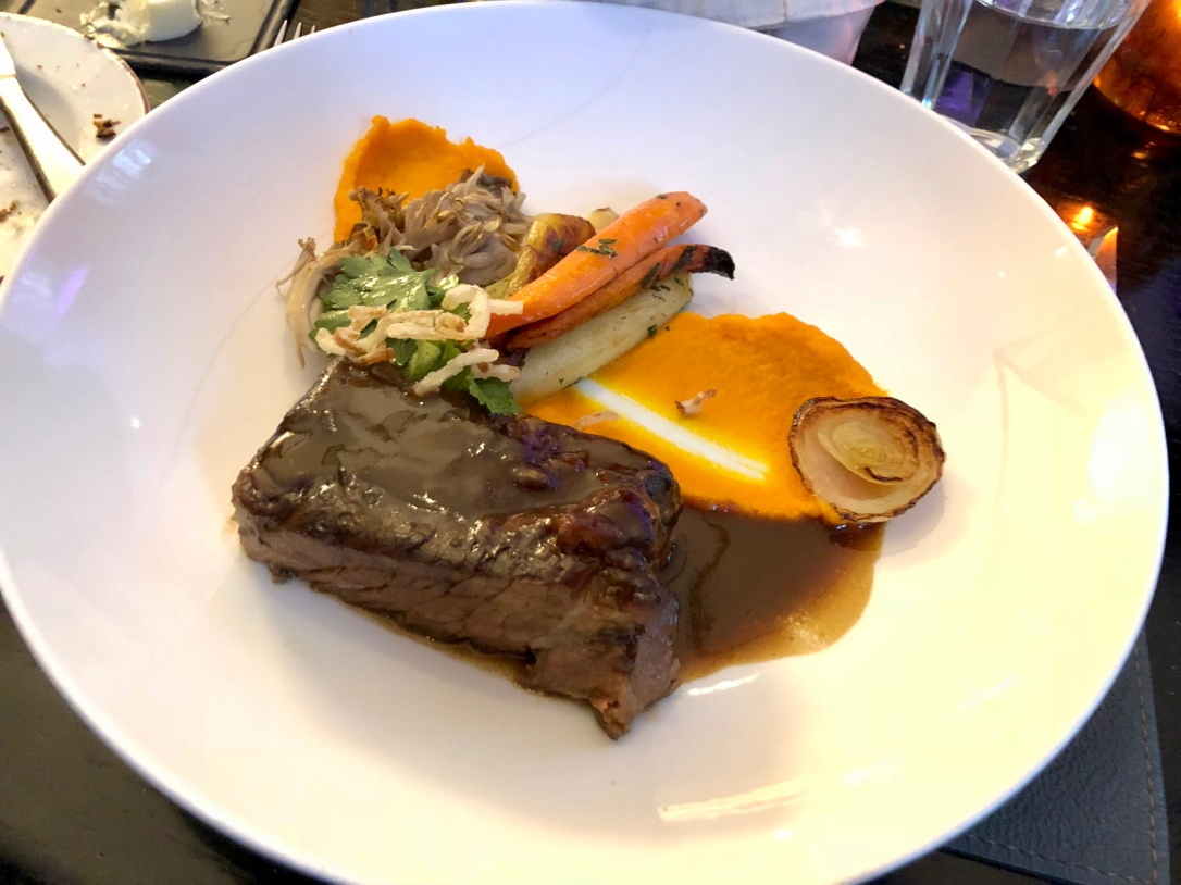 Braised short-rib @ Cafe Boulud