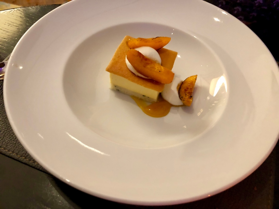 Apricot financier @ Cafe Boulud