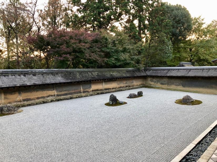 Rock garden @ Ryoan-ji