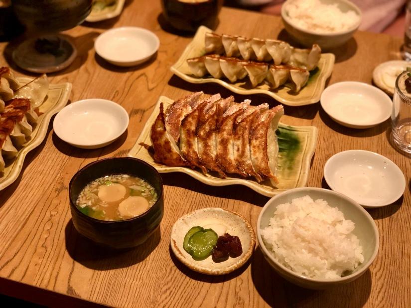 Gyoza meal @ Sukemasa