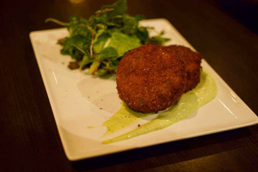 Crab risotto cake @ Days on Front