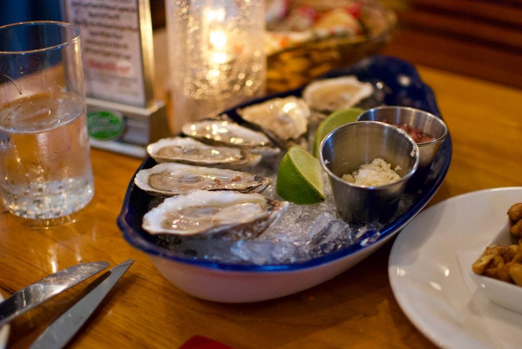 Oysters @ Chez Piggy