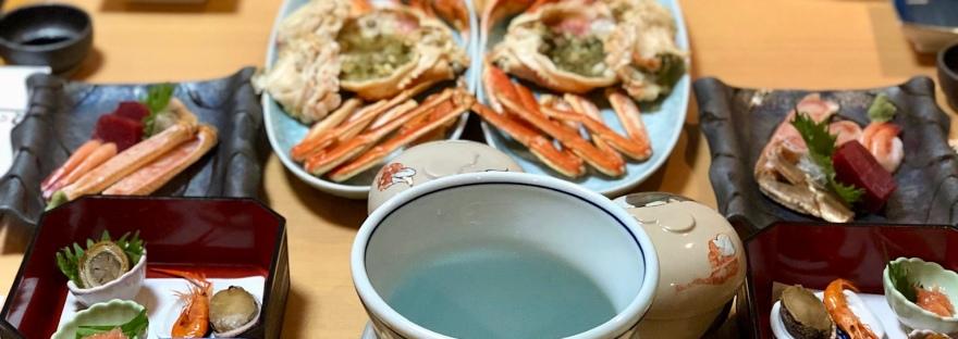 Crab kaiseki