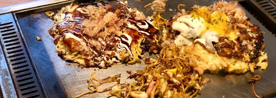 Hiroshima-style Yaki and okonomiyaki @ Takohachi