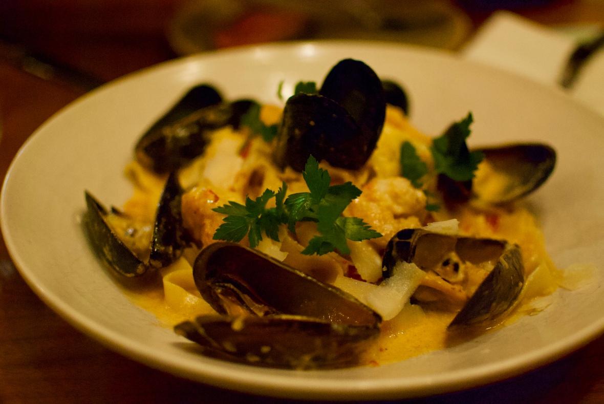 Seafood pasta @ Mati