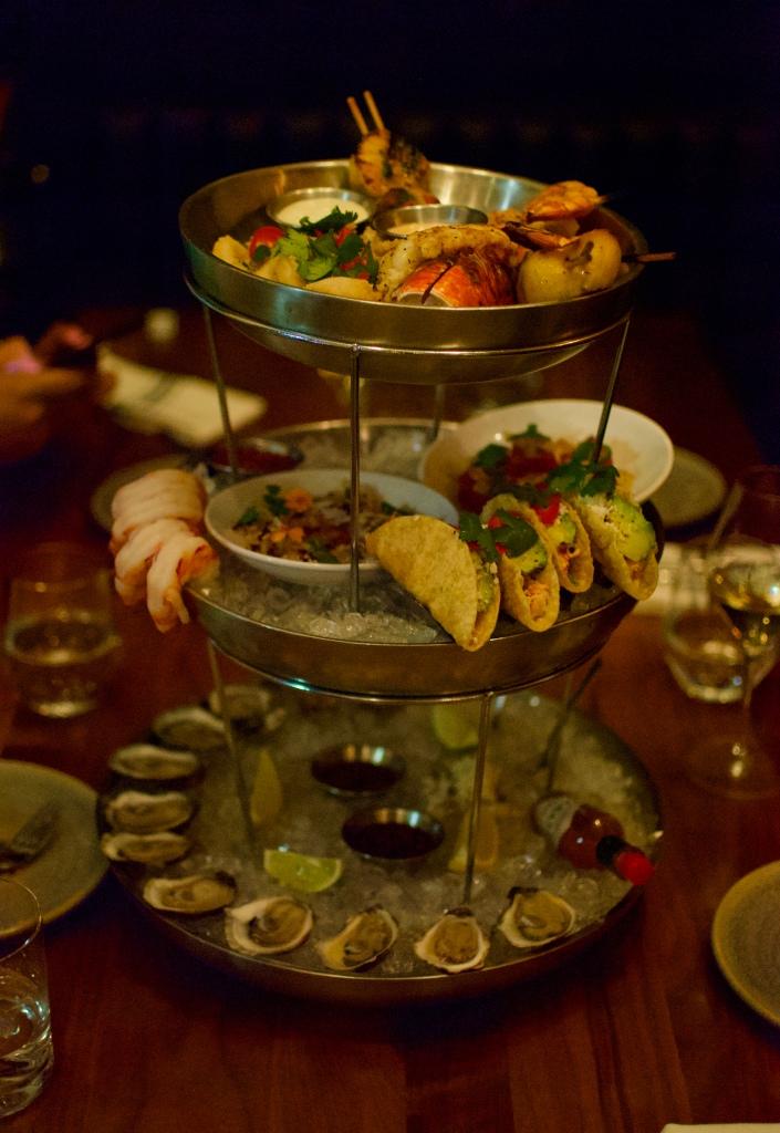 Seafood tower @ Mati