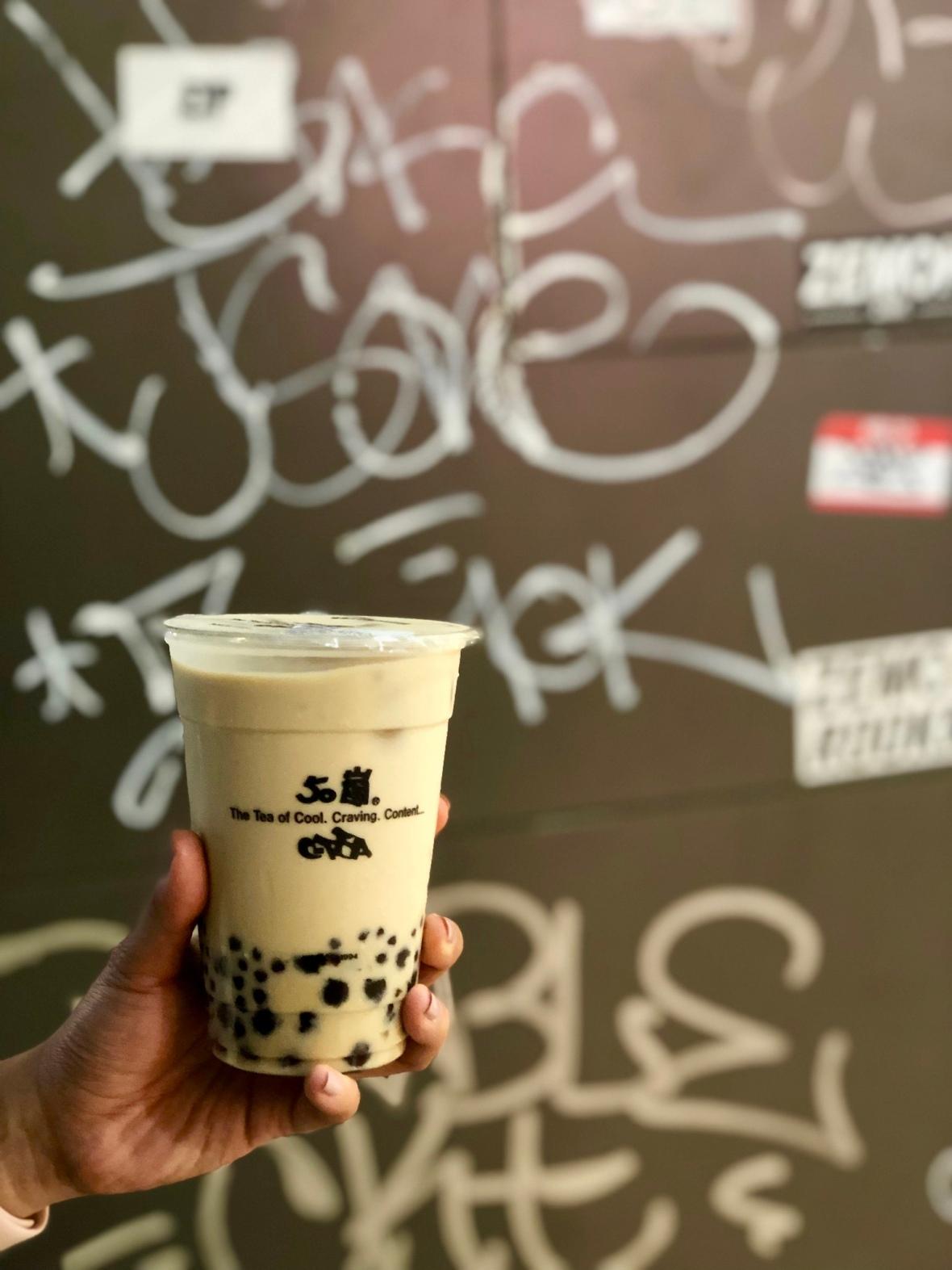 Original bubble milk tea @ 50嵐