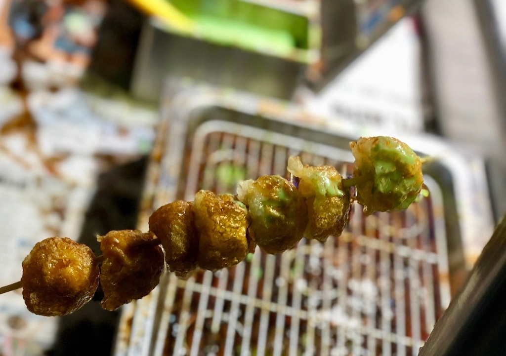 Deep fried quail eggs @ Ningxia Night Market